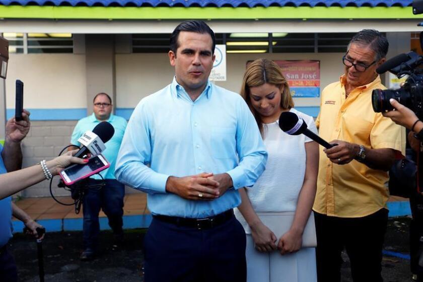 El gobernador electo de Puerto Rico, Ricardo Rosselló, anunció hoy el nombramiento de Carlos Contreras, persona ciega, como nuevo Secretario de Transportación y Obras Públicas (DTOP). EFE/ARCHIVO