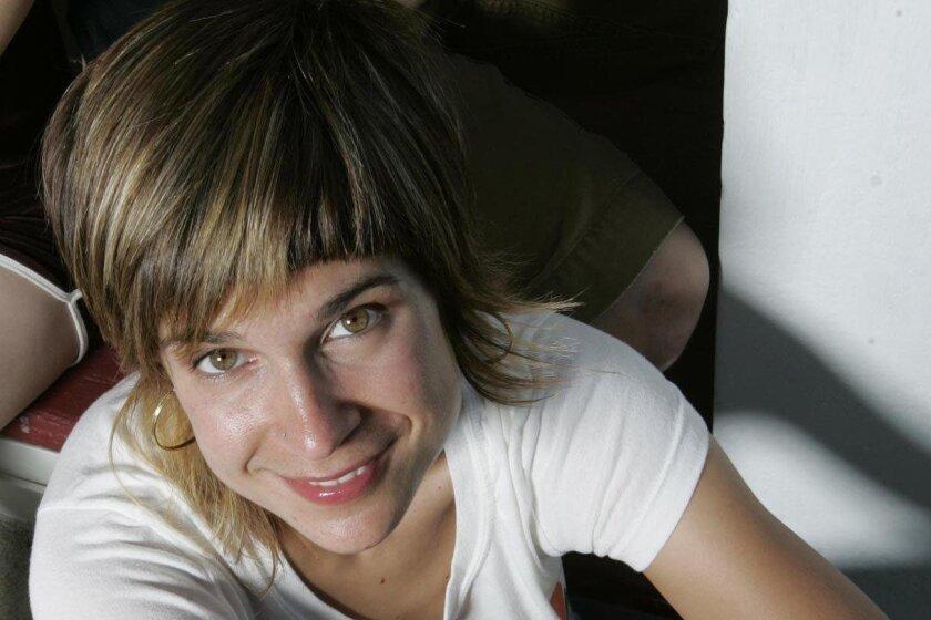 August 18, 2007, San Diego, California, Abby Schwarz aka MC Flow. Photo by JOHN GIBBINS, San Diego Union-Tribune/Zuma Press.