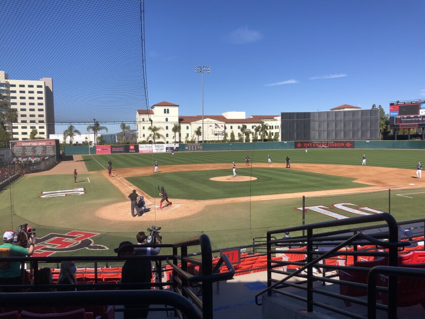 USD and San Diego State take the field for the first time in 11 months as they open the 2021 season at Tony Gwynn Stadium.