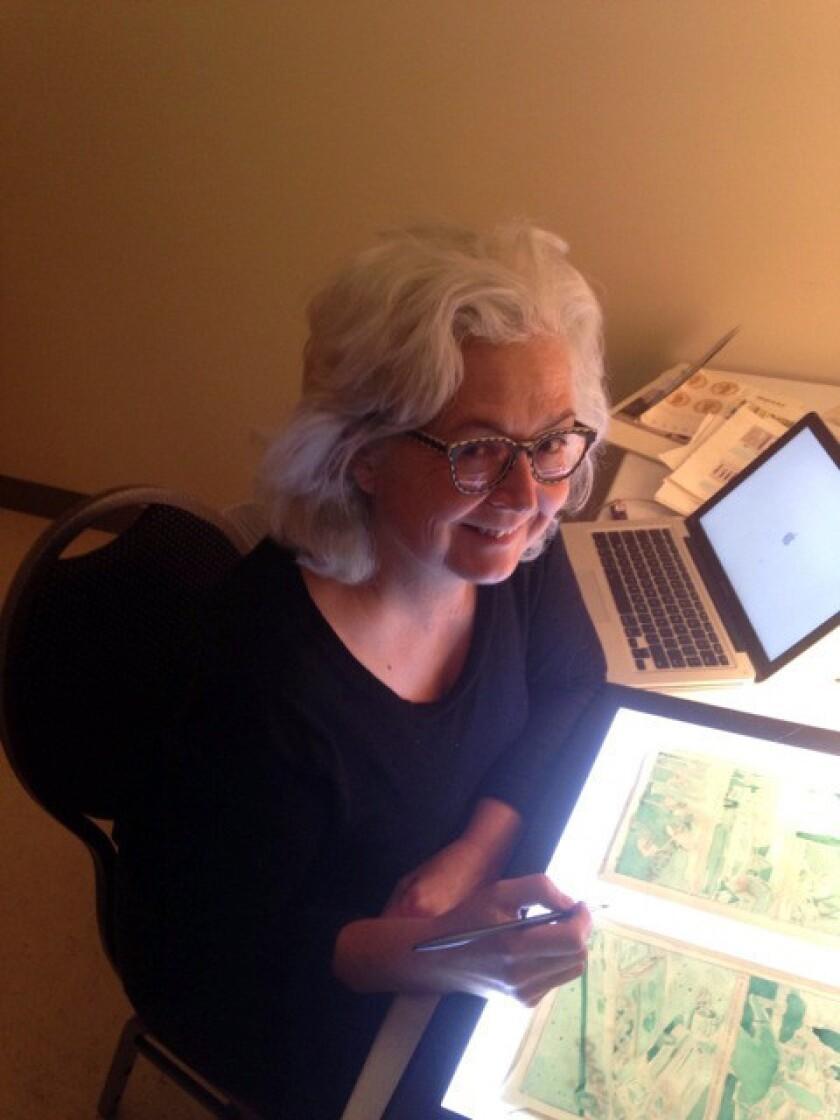 Author and illustrator Mimi Pond.