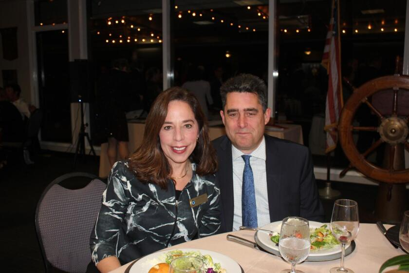 San Diego City Attorney Mara Elliott and her husband Greg