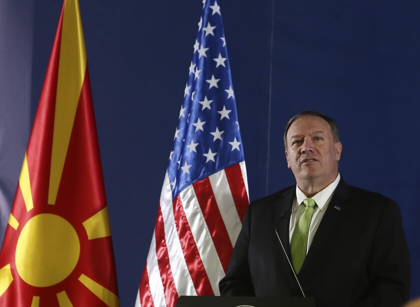North Macedonia US