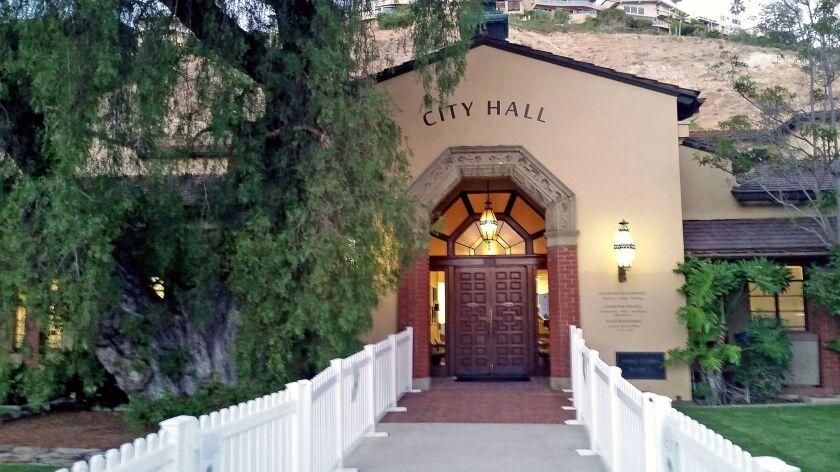The Laguna Beach city hall.