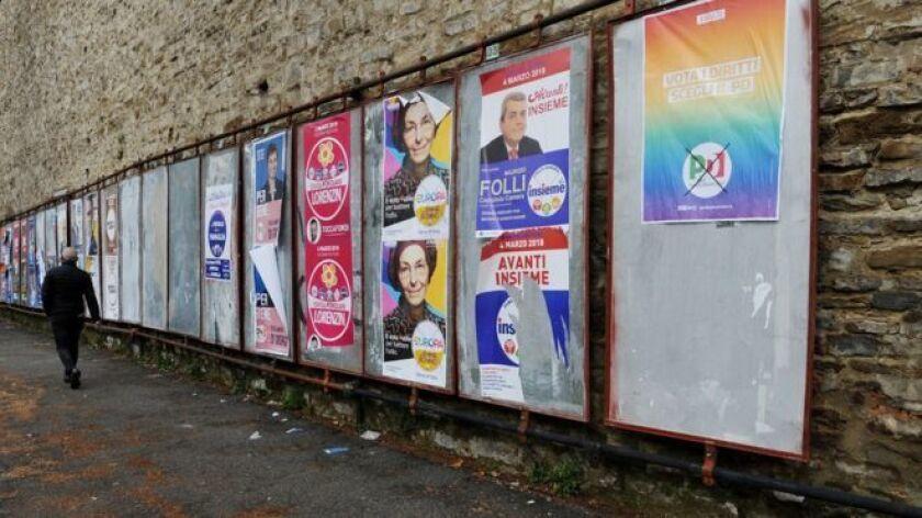 Las elecciones generales celebradas este domingo en Italia dejaron un panorama político marcado por las incógnitas y la incertidumbre.