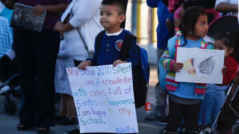 La agrupación Partnership for Los Angeles Schools se hará cargo del funcionamiento de la escuela primaria (Mark Boster/Los Angeles Times).
