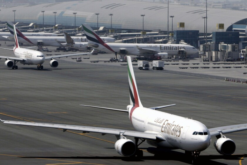 Three U.S. carriers say Emirates, Etihad and Qatar Airways have an unfair competitive advantage because they receive government subsidies.