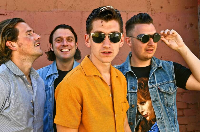 England's Arctic Monkeys are in L.A. but not necessarily of it