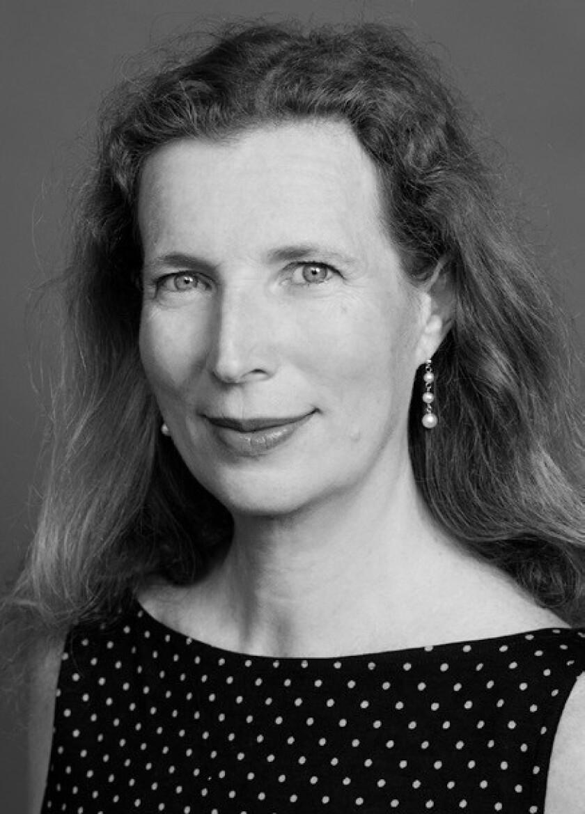 Catherine Cusset, author of 'Life of David Hockney'.