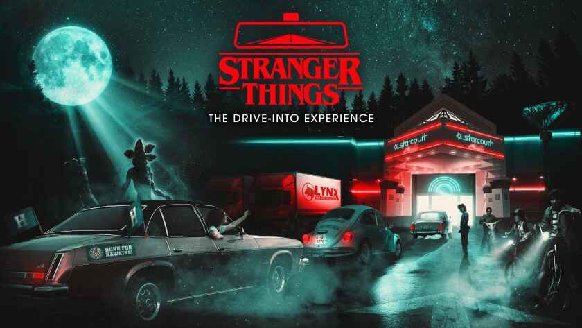 """""""Stranger Things: The Drive-Into Experience"""""""