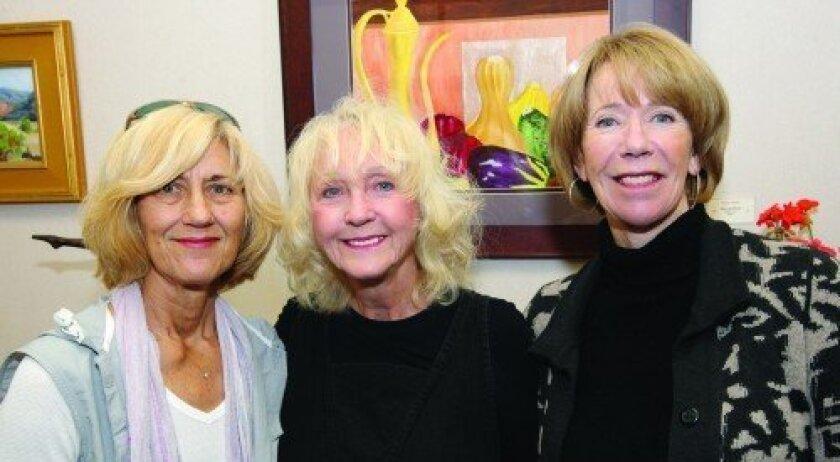 Toni Williams, Marileigh Schulte, Jane Allen (Photo: Jon Clark)