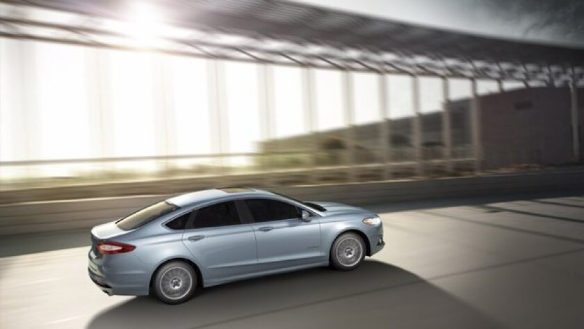 The 2013 Ford Fusion Hybrid pairs a gas engine with an electric motor that produces 188 horsepower. Ford has already sold more hybrid vehicles this year then it did in its best full year, in 2010.