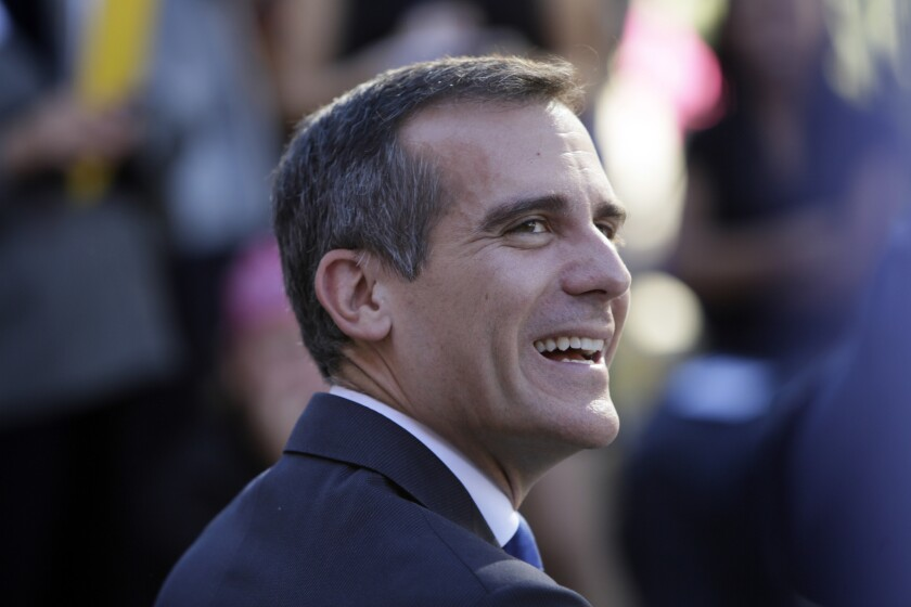 Mayor Eric Garcetti has embraced a proposal from the Business Tax Advisory Committee to phase out L.A.'s gross receipts tax completely.
