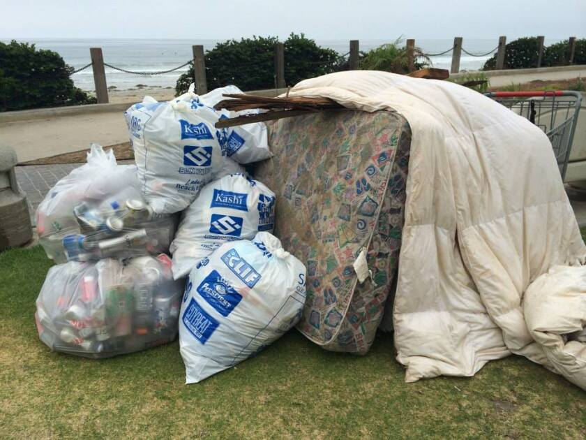 San Diego Surfrider Morning After Mess