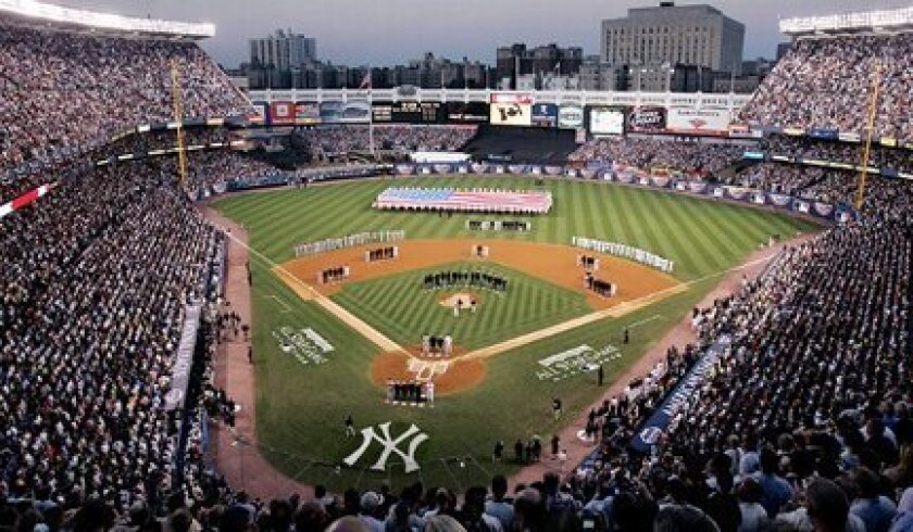 Yankee Stadium hosted the 2008 All-Star Game before closing at the end of the season.