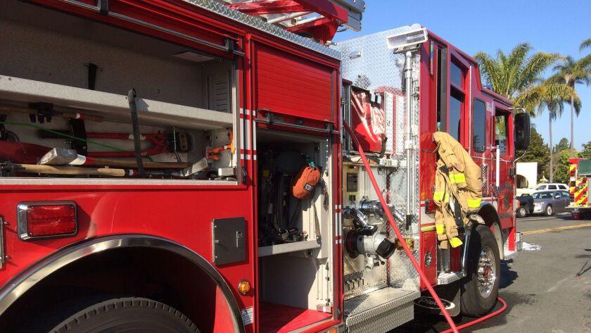 San Diego fire paramedic rig truck San Diego Fire Rescue Department