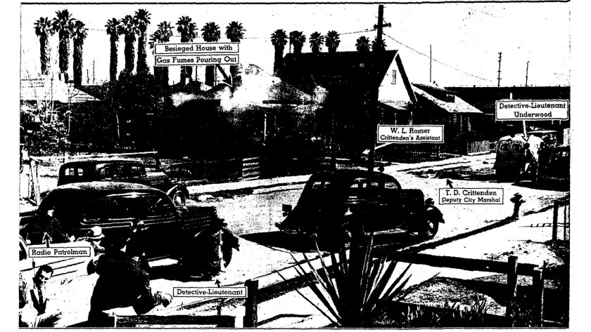 A digitized copy of a page from a Feb. 18, 1938 edition of the Los Angeles Times showing the publish