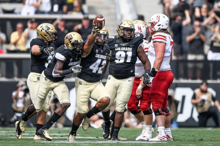 Pac-12 football: Colorado comes back to beat No  25 Nebraska