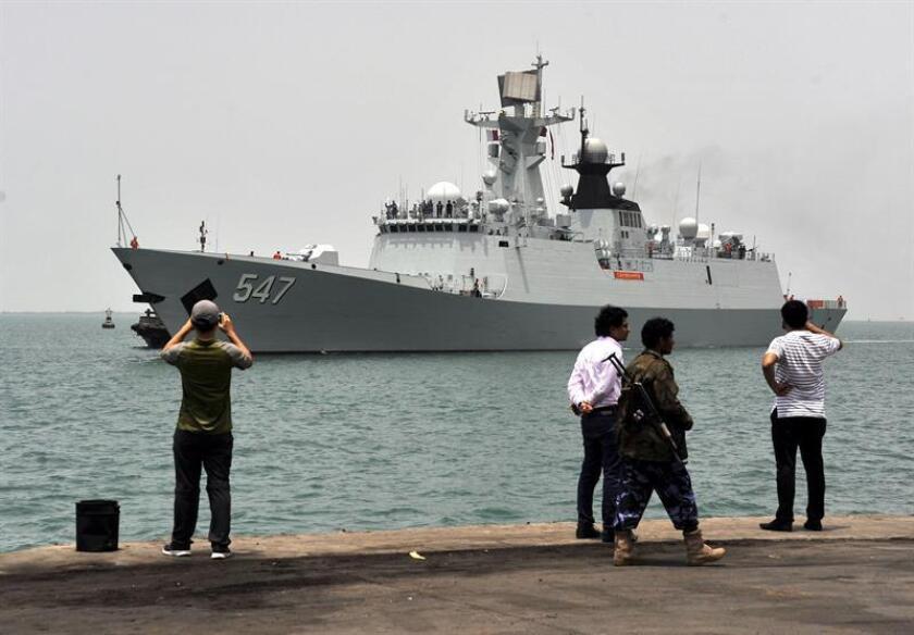 Vista de un buque en el puerto de la ciudad Al Hudaida, Yemen. EFE/STRINGER/Archivo