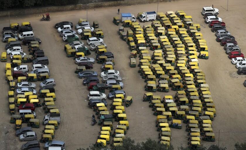 APTOPIX India Transport Strike