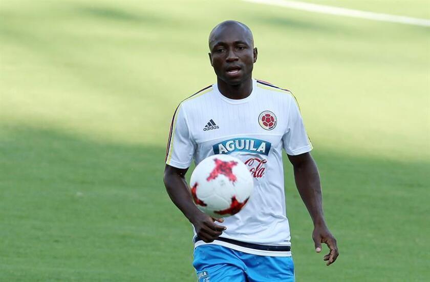 El exjugador de la selección Colombia de fútbol Pablo Armero. EFE/Archivo