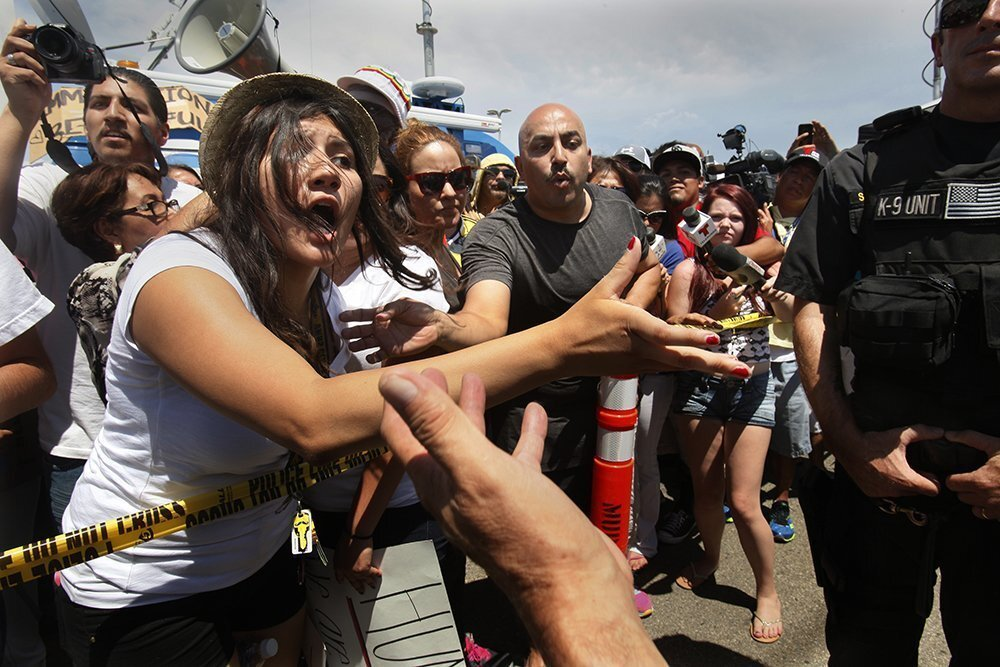 Murrieta protests on 4th of July
