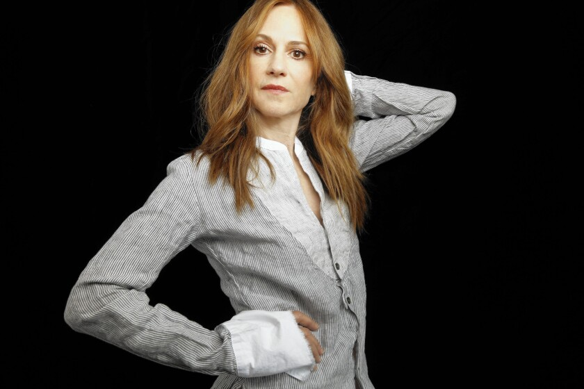 Actress Holly Hunter in New York on June 3, 2015.
