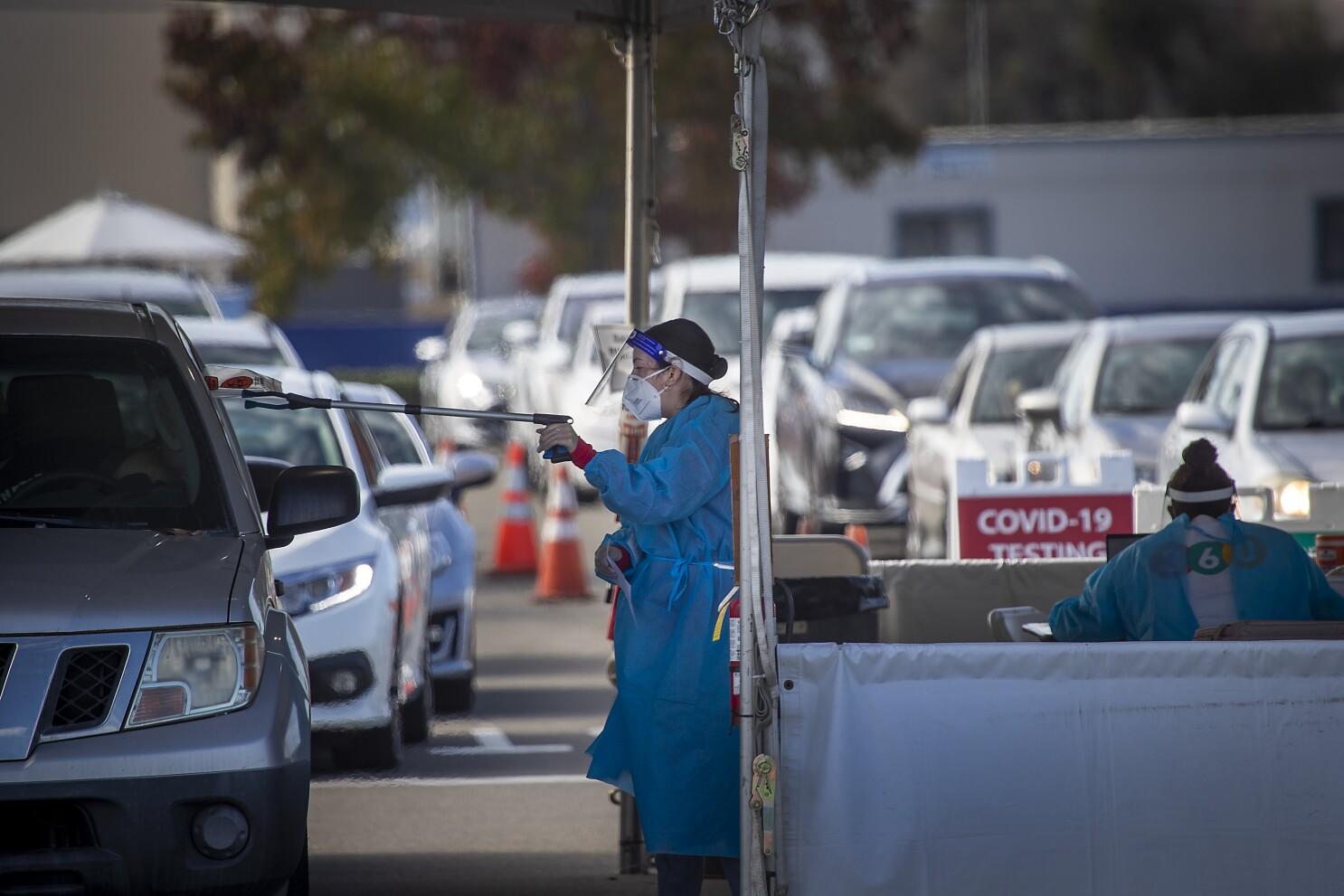 California Coronavirus Surge Prompts Pleas To Avoid Travel Los Angeles Times