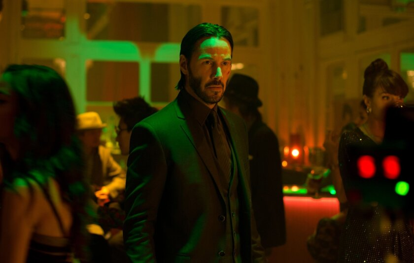 Keanu Reeves is one of the biggest names at Comic-Con@home. This photo shows Reeves as John Wick.