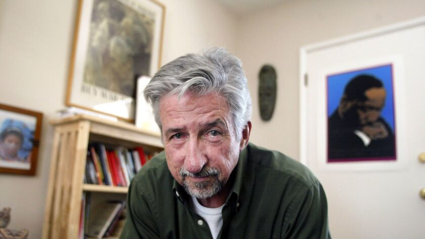 Tom Hayden at his office in Culver City, Calif. in 2004.