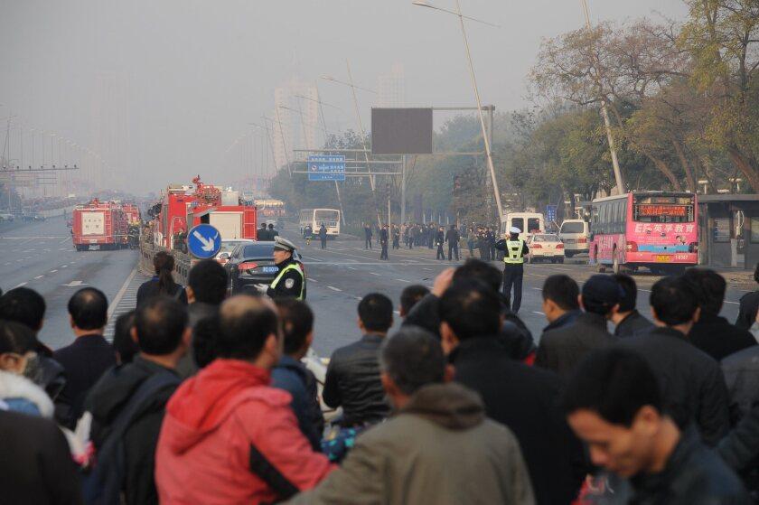 China bombing