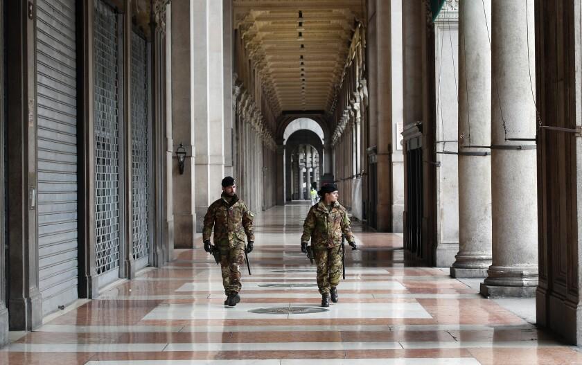 Virus Outbreak Italy What's Next