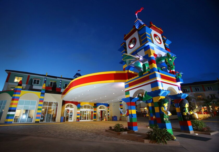 Legoland's existing 250-room hotel has been so successful, the Carlsbad theme park is looking to build another.