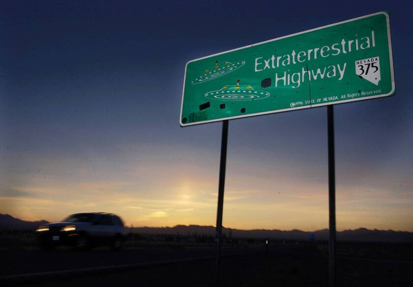 No Martian chronicle, just a declassified report: Area 51 does exist