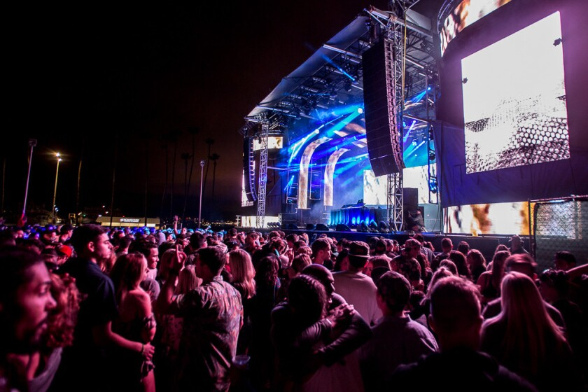CRSSD Festival has announced its spring 2017 dates and lineup. (Arlene Ibarra)