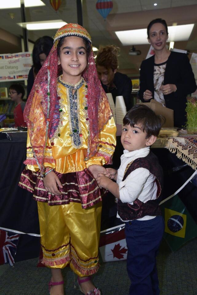 Anahica and Avash represented Iran