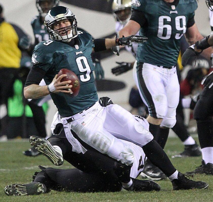 Eagles Quarterback Nick Foles