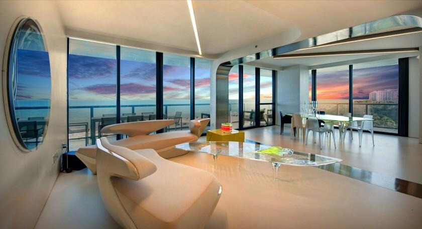 Zaha Hadid's Miami condo