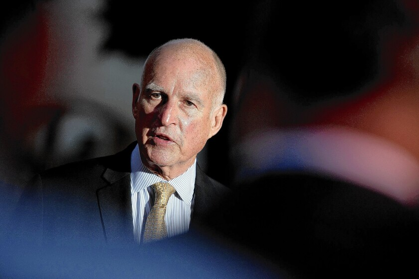 Gov. Jerry Brown is leading a large delegation to Mexico City this week. The governor's trip is funded by a $5,000 fee paid by each of the traveling delegates.