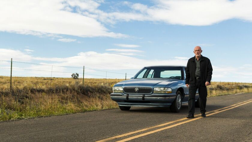 Jonathan Banks as Mike Ehrmantraut- Better Call Saul _ Season 3, Episode 3 - Photo Credit: Michele K