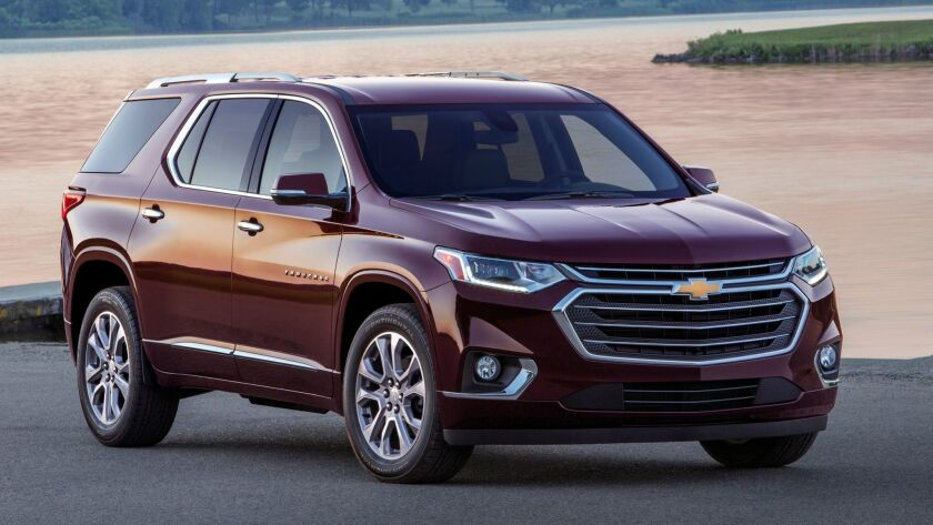 Featuring a bold and refined new look, the completely redesigned 2018 Chevrolet Traverse is built of