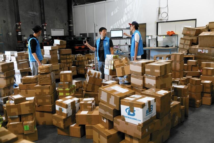 Entrepreneurs ship U.S. goods to China