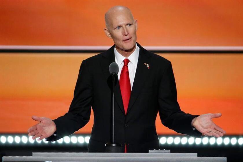 El gobernador de Florida, Rick Scott, anunció hoy en Orlando, en el centro del estado, su intención de solicitar al Congreso del estado seis millones de dólares para reforzar la lucha antiterrorista. EFE/ARCHIVO