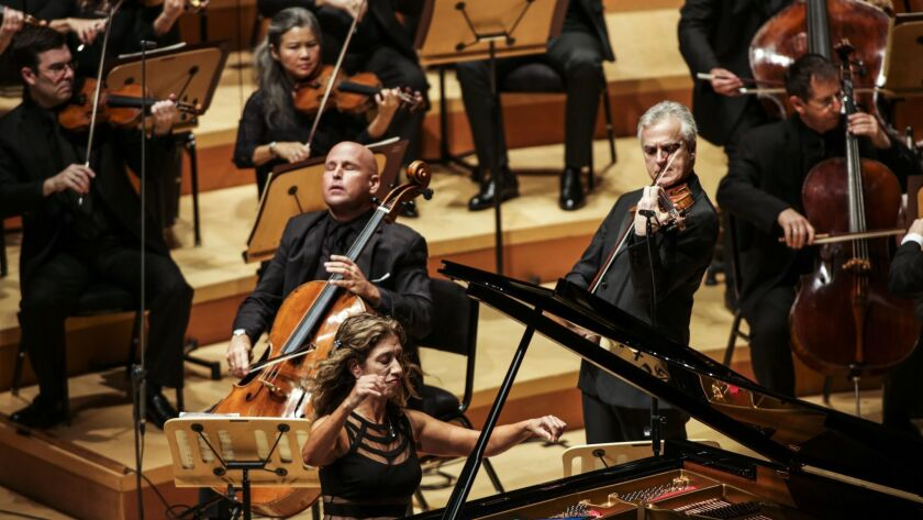 LOS ANGELES, CA -- THURSDAY, OCTOBER 4, 2018-- The Los Angeles Philharmonic debuted their first con