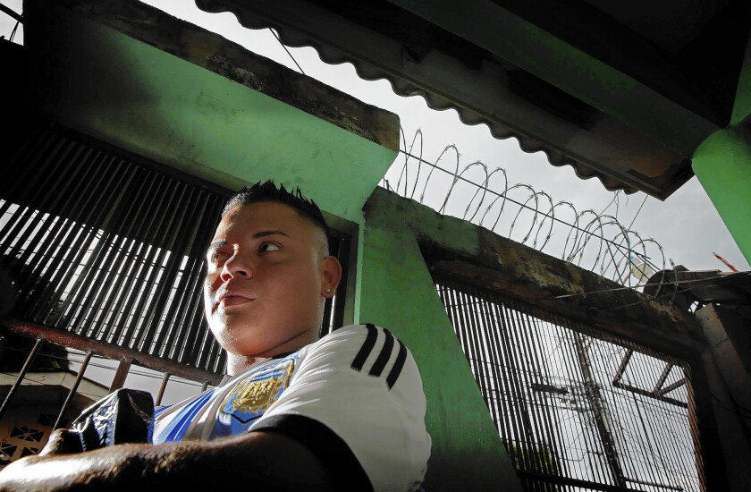 Young deportees in Honduras