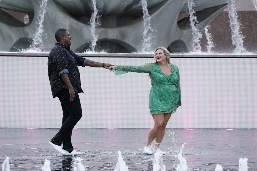 """Octavius and Megan in series premiere episode of """"Flirty Dancing"""" airing Sunday, Dec. 29, on Fox."""