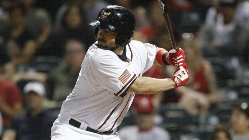 Padres minor league catcher Brett Nicholas started the 2018 season with Triple-A El Paso.