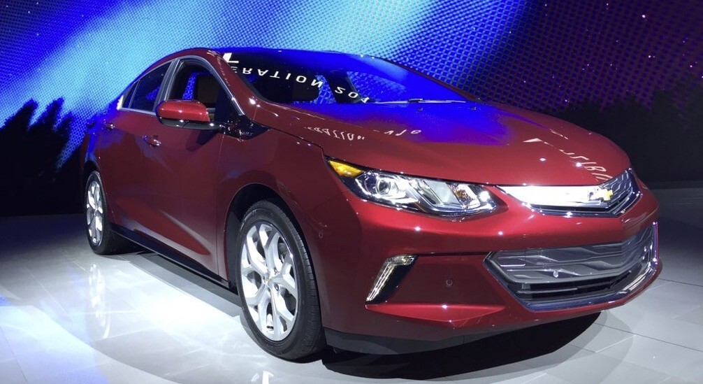 The Chevy Volt is named Green Car of the Year at the L.A. Auto Show.