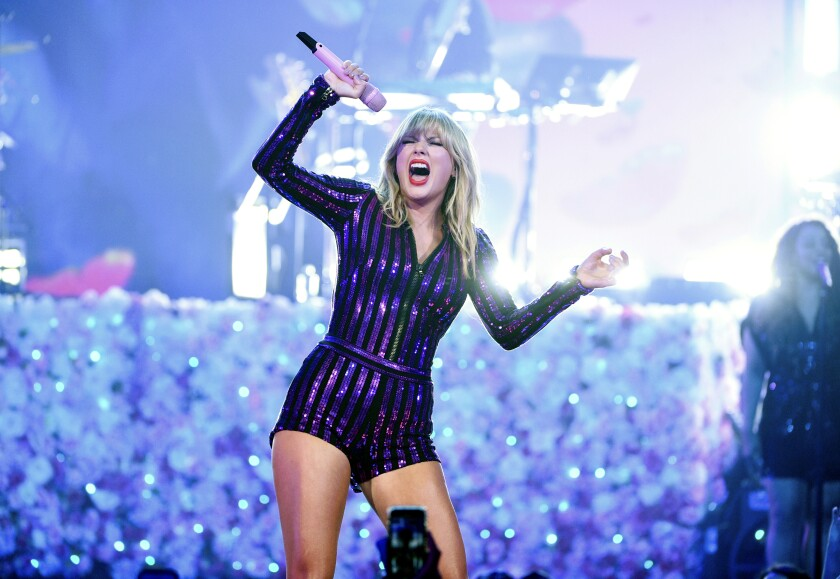 Taylor Swift will play two shows to open SoFi Stadium next July