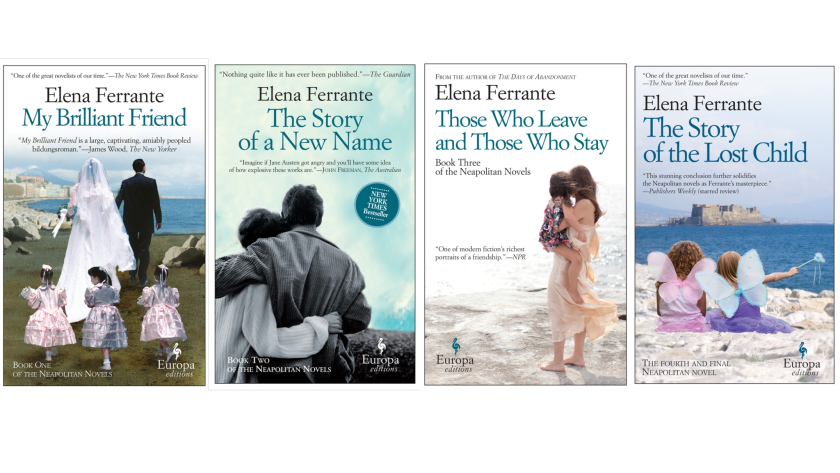Books by the pseudonymous author Elena Ferrante are international bestsellers.