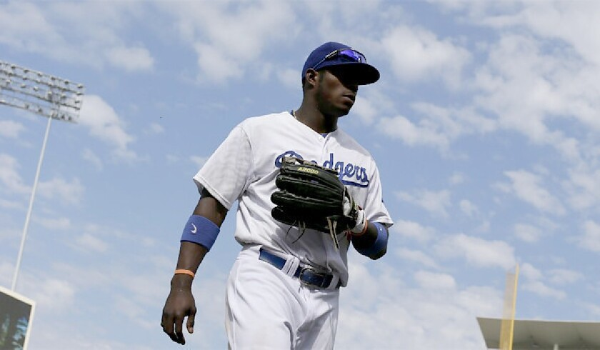 """Tim Bravo, not pictured, who accompanied Dodgers outfielder Yasiel Puig each day and served as his English teacher for several months, said everywhere the pair went was """"Puigmania."""""""